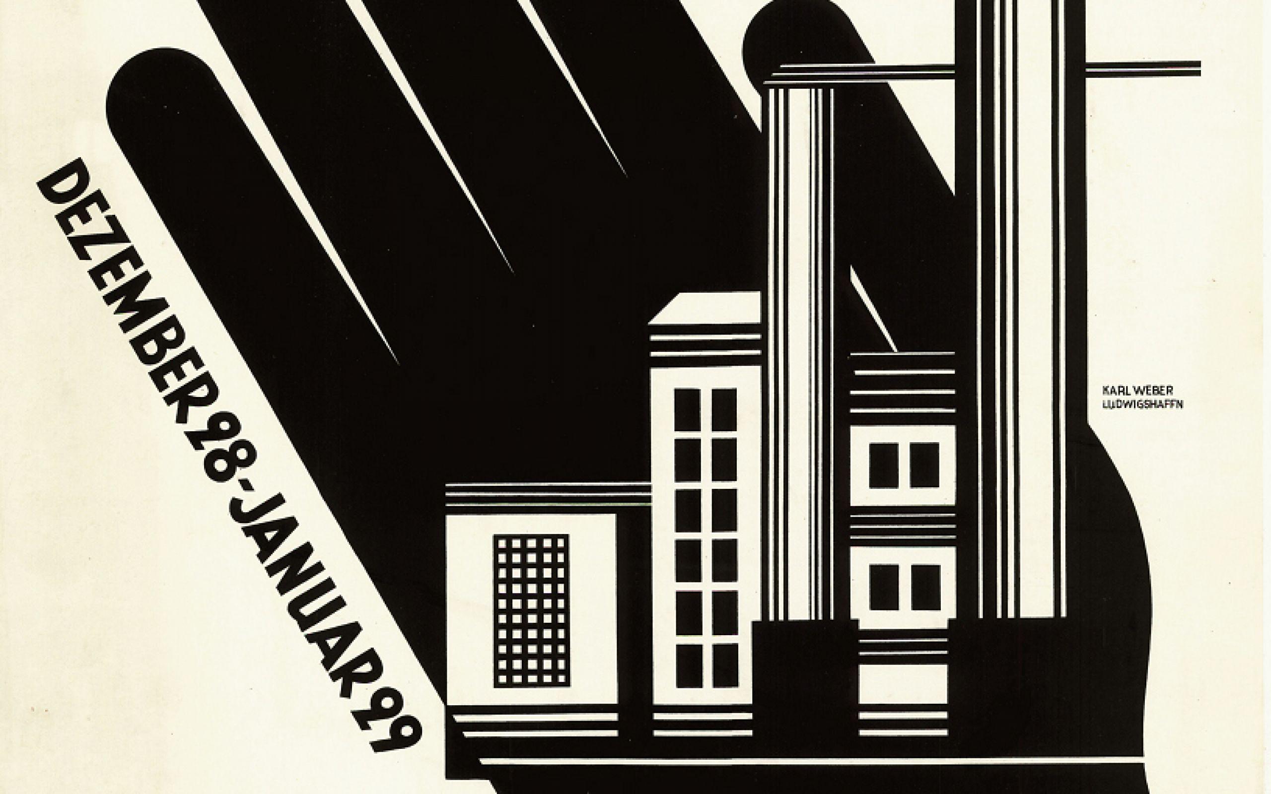 Karl Weber Handwerkskunst im Maschinenzeitalter, 1928 / 29 Lithografie