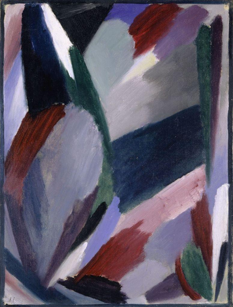 Alexej von Jawlensky, Variation: Strenger Winter, 1916 Öl auf Karton, 36 x 27 cm Kunstmuseum Basel Foto: Kunstmuseum Basel, Martin P. Bühler