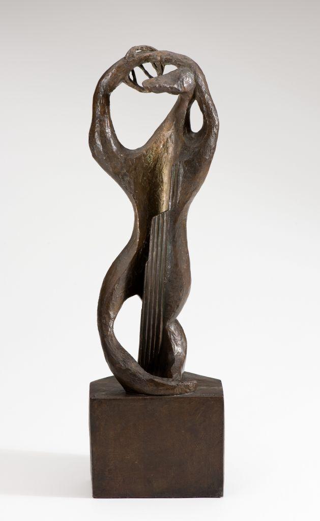 Henri Laurens, Amphion, 1952 Bronze, 226 x 67 x 67 cm Lehmbruck-Museum, Duisburg Foto: Octavian Beldiman © VG Bild-Kunst, Bonn 2018
