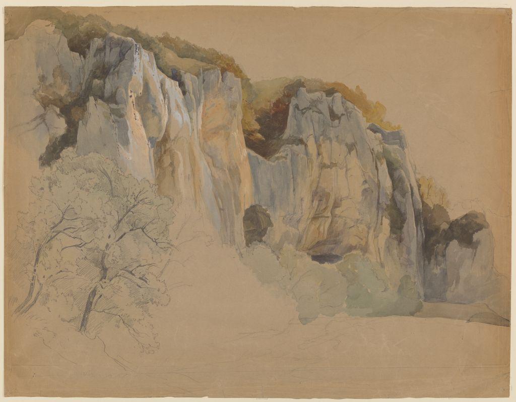 Edmund Kanoldt (1845 - 1904), Felspartie, um 1890