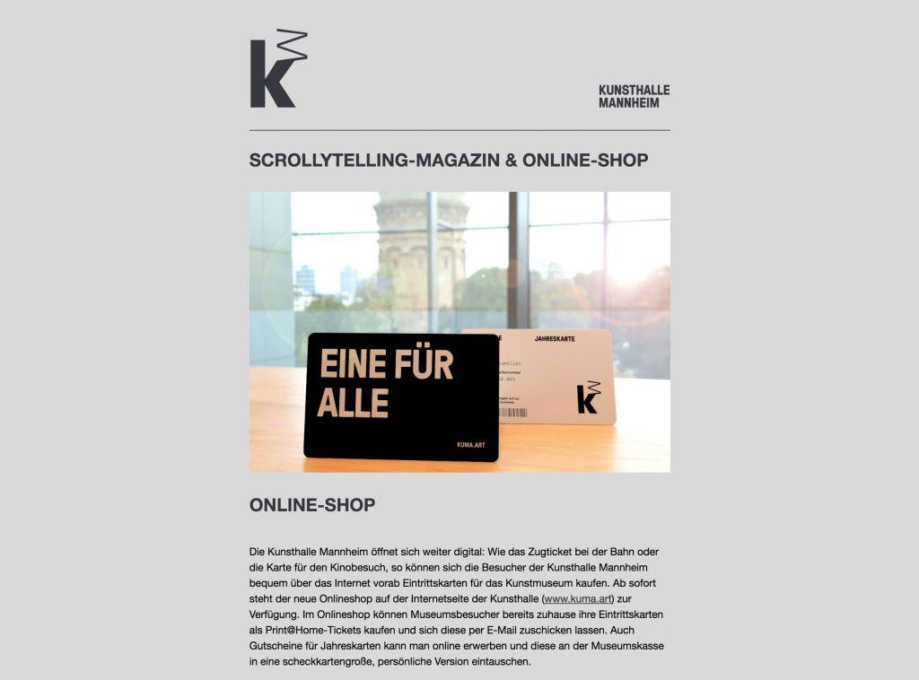 © Kunsthalle Mannheim