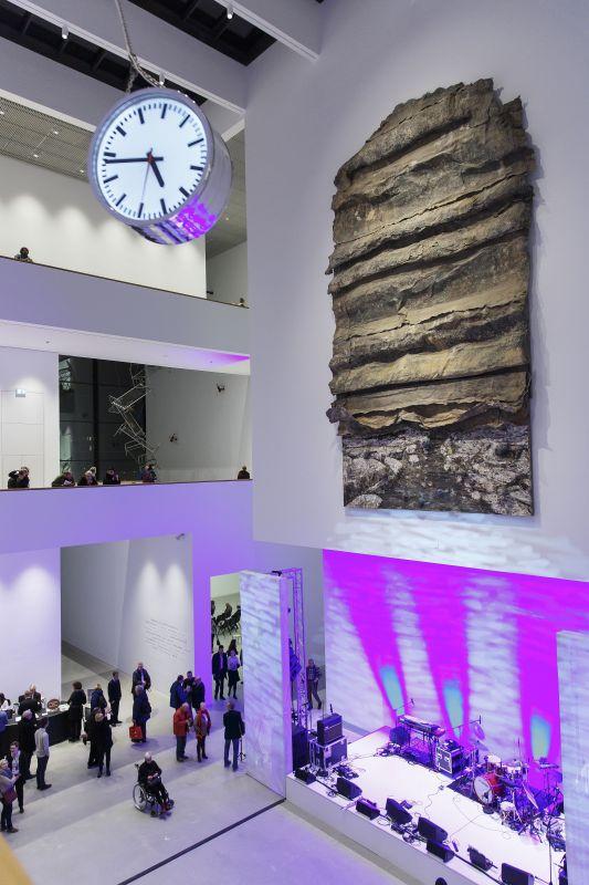 """Symposium """"Das Museum der Zukunft"""" im Neubau der Kunsthalle – hier bei den Tagen der offenen Tür 2017; Foto: Kunsthalle Mannheim/ Bechtel"""